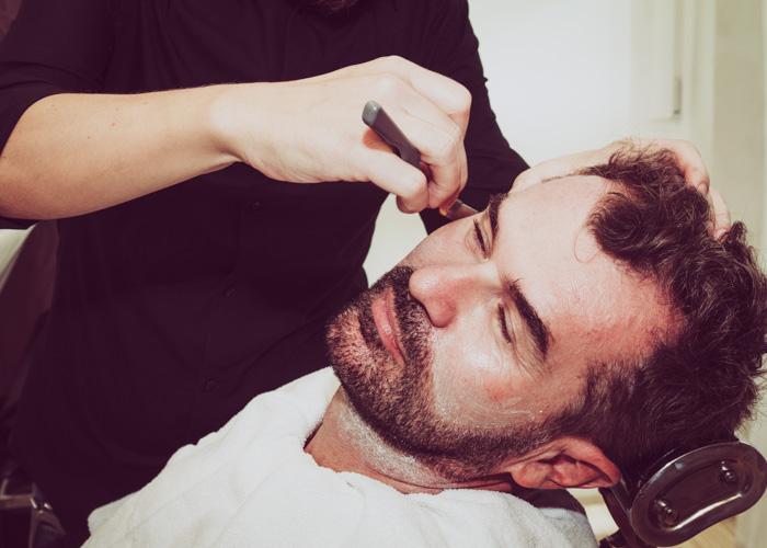 Rifinizione rasatura barba
